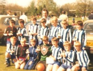 Horsham Sparrows FC  -Sportsmanship award early 80s
