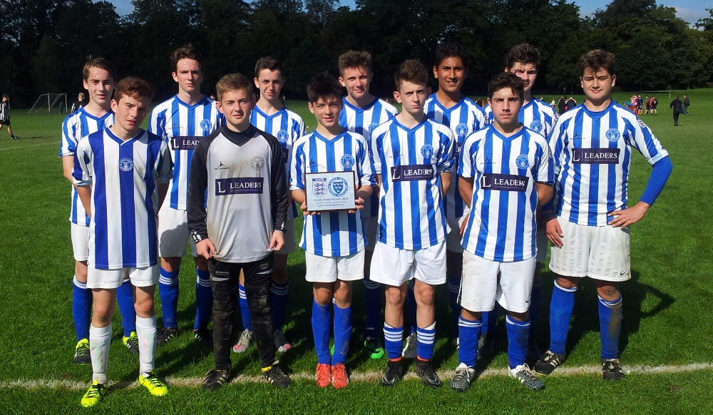 Horsham Sparrows FC U16 team 2015