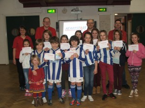 Horsham Sparrows FC in the Community