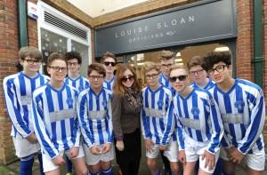 Horsham Sparrows - Louise Sloan Opticians sponsorship