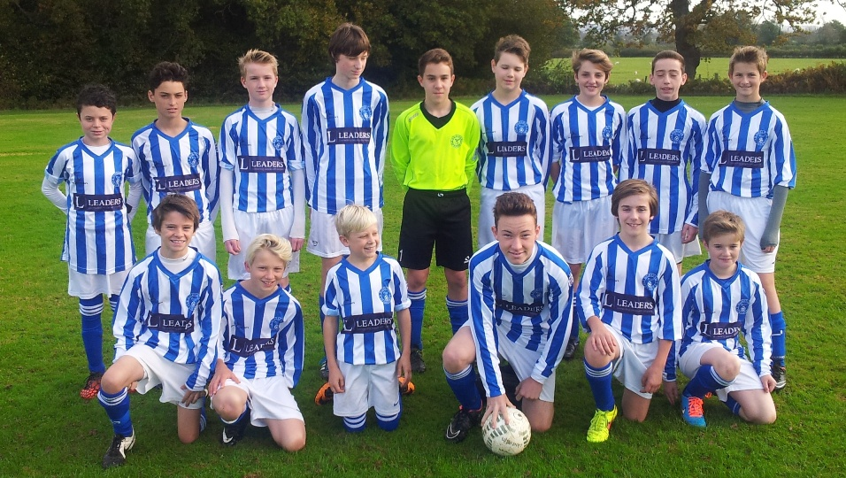 Horsham Sparrows U14 boys team Sponsored by Leaders