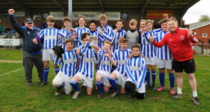 Horsham sparrows U14 boys - Sparrows cup winners 2016
