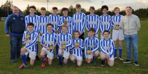 Horsham sparrows U14 boys - league runners up 2016