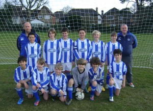 The Team as U11's 2012-13