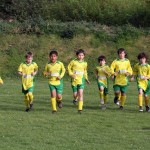 Training as Under 10s 2009-10 season
