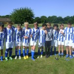 Under 12s boys team