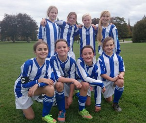Horsham Sparrows U12 Girls team