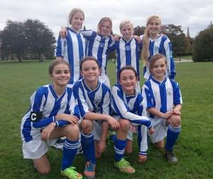 Horsham Sparrows U12 Girls team