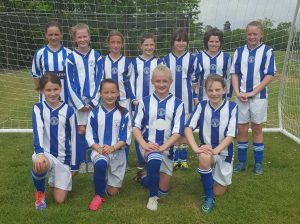 Horsham Sparrows U12 girls 2016-17