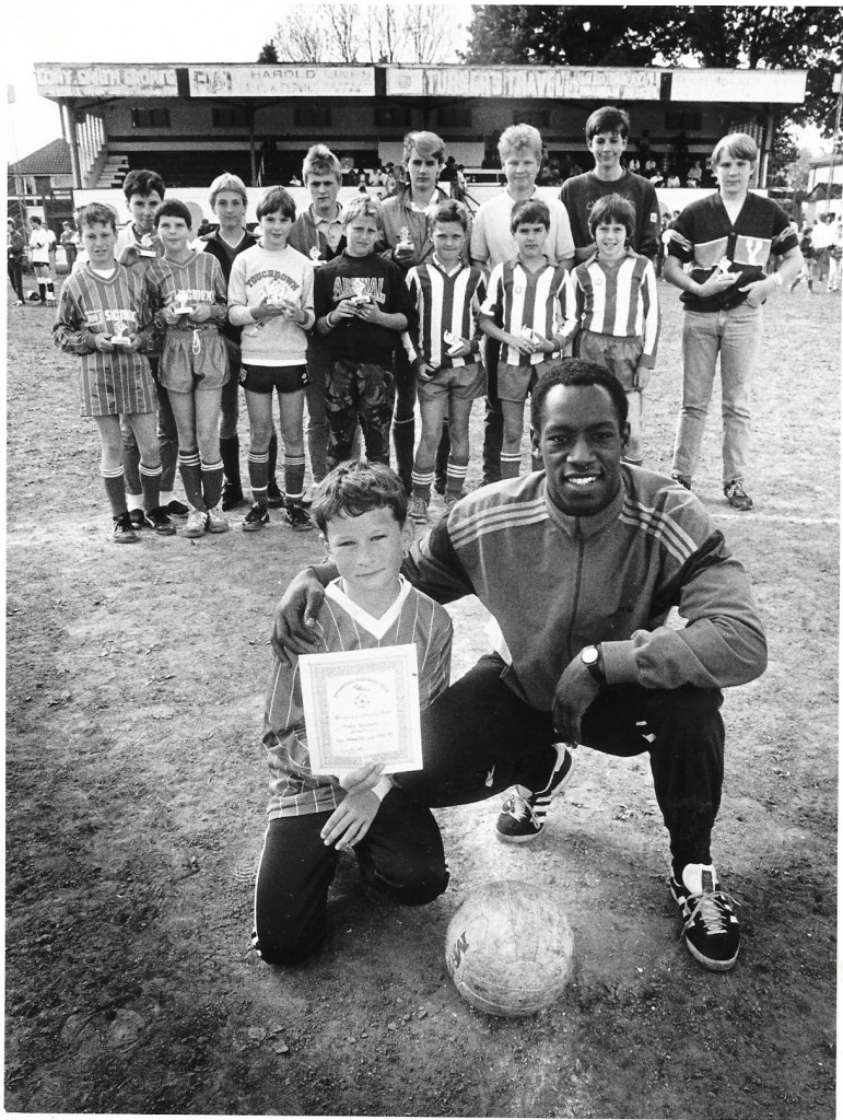 Ian Wright at Sparrows Day